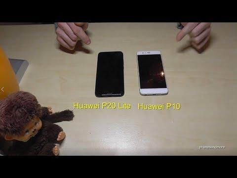 huawei p10 lite vs p10