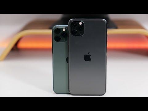 iphone 11 vs iphone 11 pro max